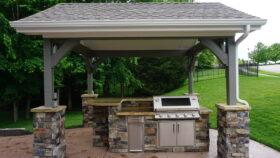 1x2 Cast Concrete Block Wall Roof Structure